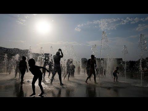 France 24:July breaks global heat record