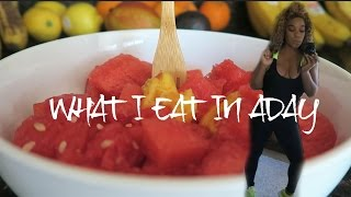 What I Eat In A Day|  Vegan+Intermittent Fasting