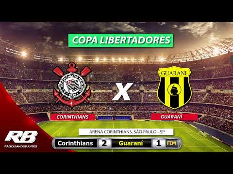 ?Libertadores Da América - Corinthians X Guaraní - 12/02/2020 - AO VIVO