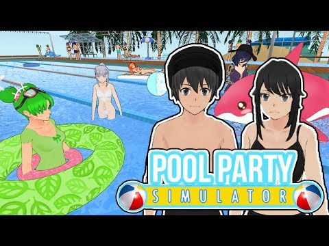 POOL PARTY SIMULATOR! SPECIAL SUMMER MOD! WE'RE GOING TO THE BEACH! - Yandere Simulator