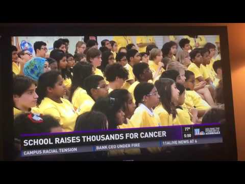 Fulton Science Academy Private School  Coins for a Cure Assembly Evening News