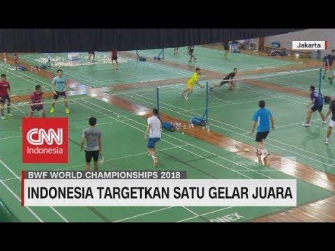 Indonesia Target Raih Juara BWF World Championships 2018