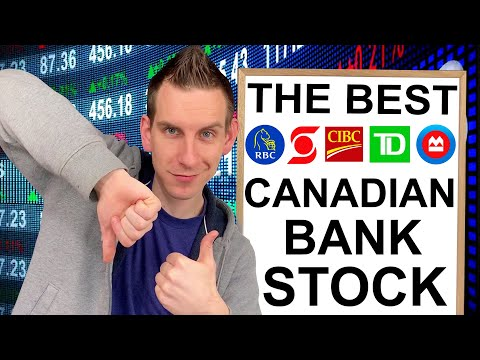 Best Canadian Bank Stocks For Dividends | Investing 2020