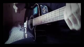 "Валентин Стрыкало - ""Гори"" разбор на гитаре .(кавер)"