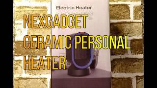 NexGear Ceramic  Personal Heater Unboxing & Demo