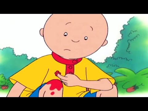Funny Animated cartoons for Kids | Caillou gets hurt | Cartoon Movie | BEST CARTOONS FOR CHILDREN
