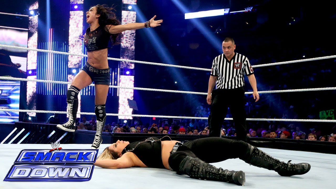 kaitlyn vs aj lee wwe divas championship match