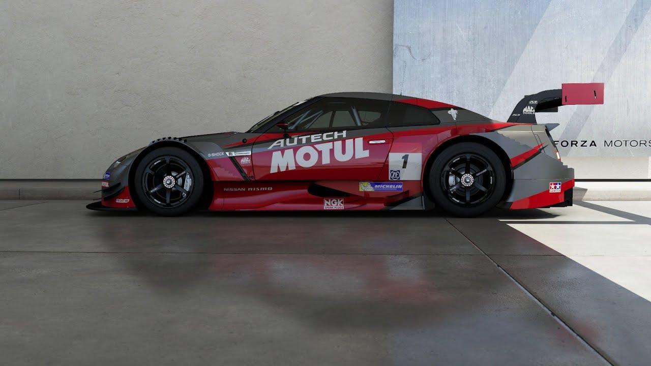Forza Motorsport 6 2015 Nissan 1 Nismo Motul Autech Gt