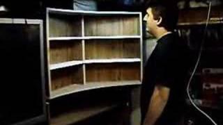 Spinning Dvd Shelf