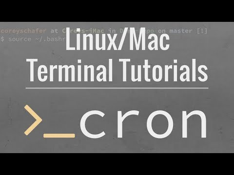 Linux/Mac Tutorial: Cron Jobs - How to Schedule Commands with crontab