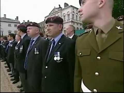 Falklands 25 veterans parade 2007 London part 2