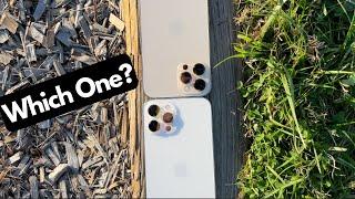 Apple iPhone 12 Pro Max Colors Comparison | Gold vs Silver(White) | Shots of Both Colors |