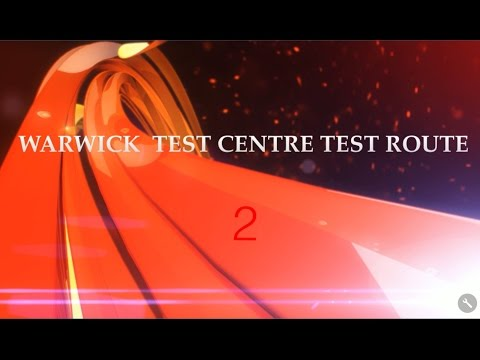 Warwick Test Route (2)