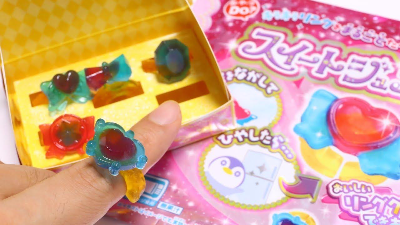 Crayon Rings Sweet Jewel Ring Edible Diy Candy Youtube