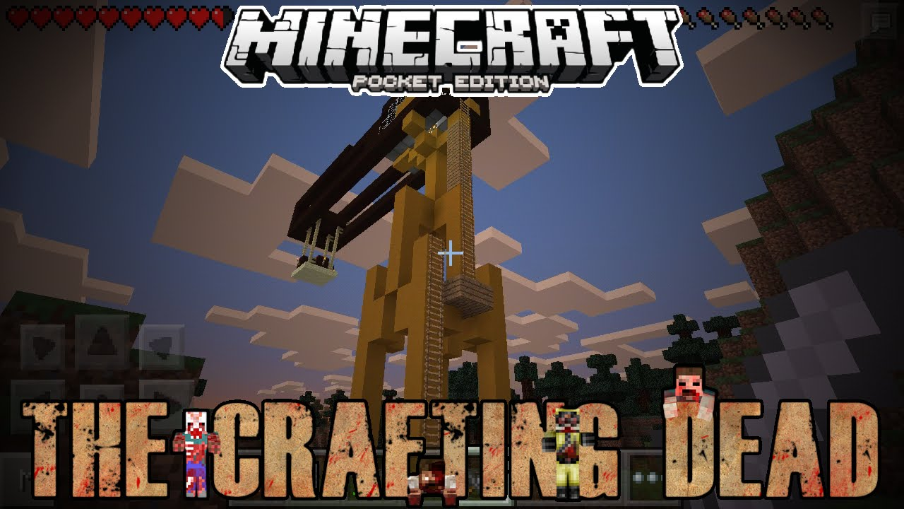 Minecraft pe crafting dead wondering ep 1 youtube for The crafting dead ep 1