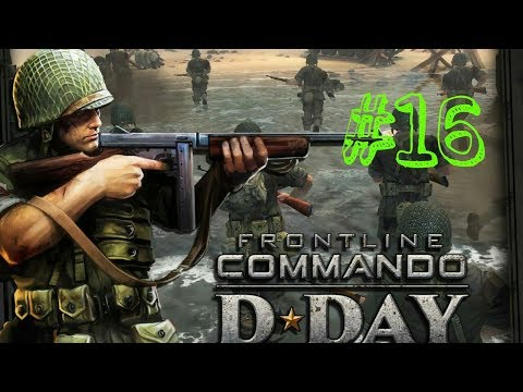 D day:game play walkthrough Omaha Single Player Campaign part-16