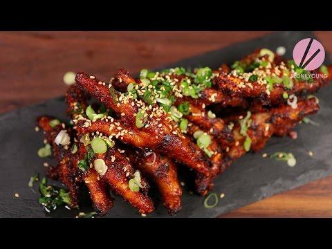 Korean Chicken Feet Dakbal Youtube