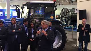 Launch of Farmtrac's new Global NETS Series and its Electric Tractor at Agritechnica 2017 in Germany