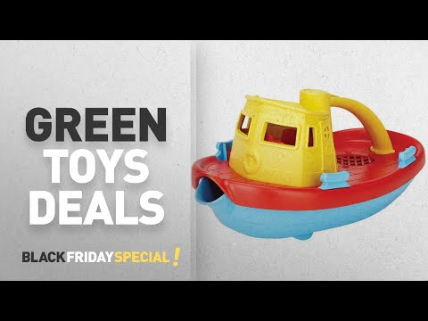 Green Toys Black Friday Featuring: Green Toys My First Tugboat, Yellow