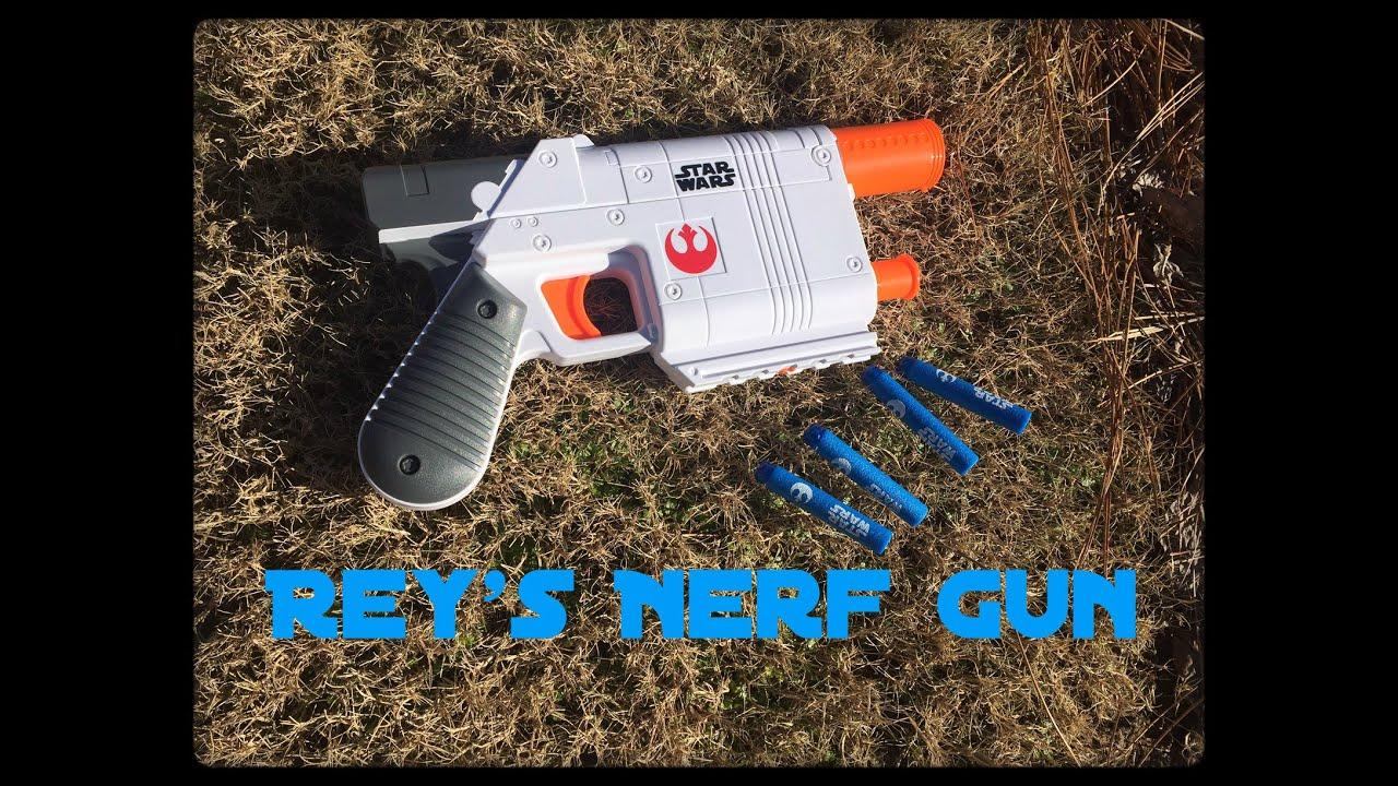 Honest Review Rey s Nerf Blaster From Star Wars VII aka Jakku