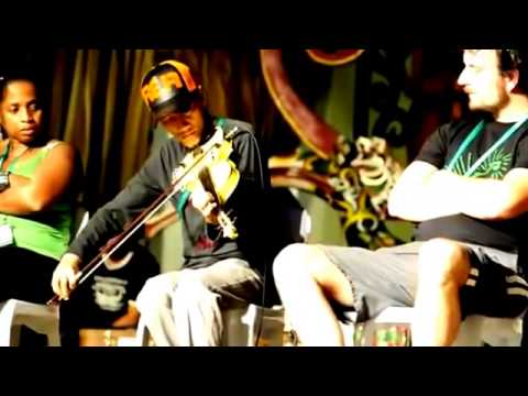 Instrument violin - Hendri Lamiri @ Rainforest World Music Festival