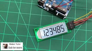 Cool Segment LCD Module 6 Bit 8 Segment - ICStation
