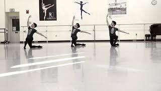 Cuban triplet ballet dancers