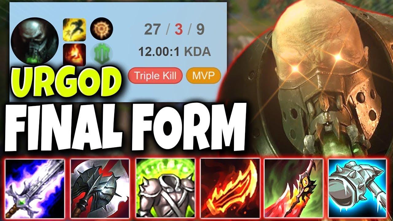 Meet URGOD in his FINAL FORM of Destruction 🔥 Balorians Squad #02 LoL MID Urgot Season 10 Gameplay