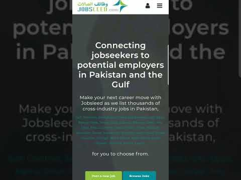 #1 Jobs Site in Pakistan | 10,000+ Companies are Hiring | Pakistan's Leading Job Site – jobsleed.com