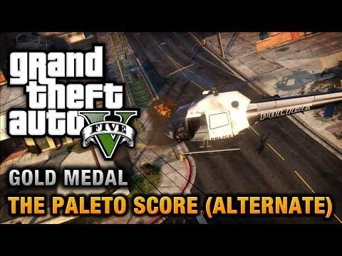 GTA 5 - Mission #52 - The Paleto Score (Alternate Method) [100% Gold Medal Walkthrough]