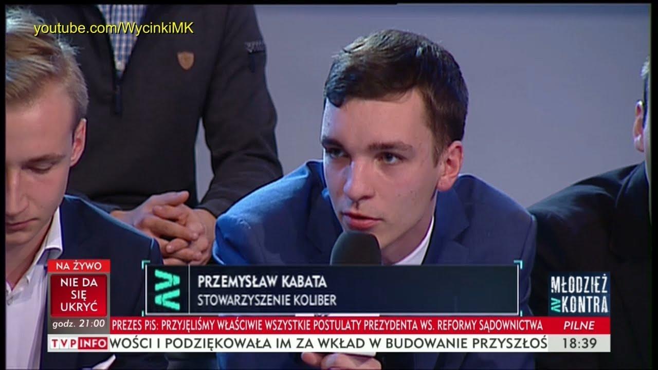 Młodzież kontra 613: Przemysław Kabata (Stow. Koliber) vs prof. Andrzej Zybertowicz 14.10.2017