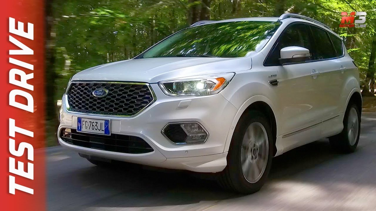 new ford kuga vignale 2018 first test drive youtube