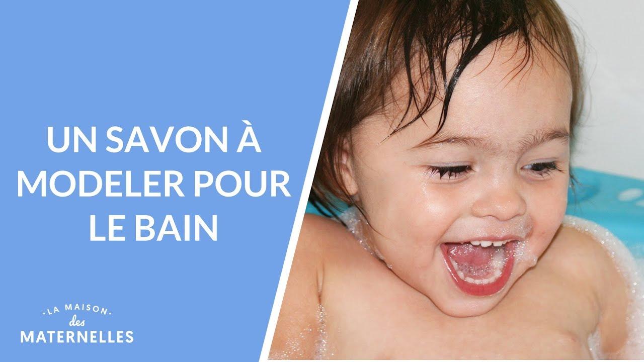 Pate A Modeler Pour Le Bain diy : un savon à modeler pour le bain - la maison des maternelles #lmdm