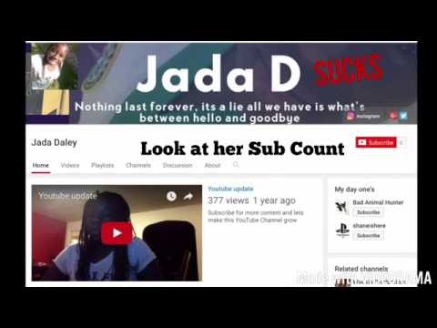 Jada Daley have 0 Subs, Wow, Poor Jamaican.