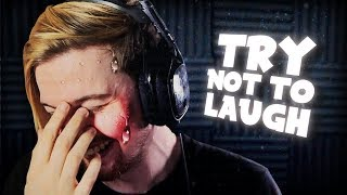 THESE VIDEOS.. TEARS!! (Try Not To Laugh Challenge #13)