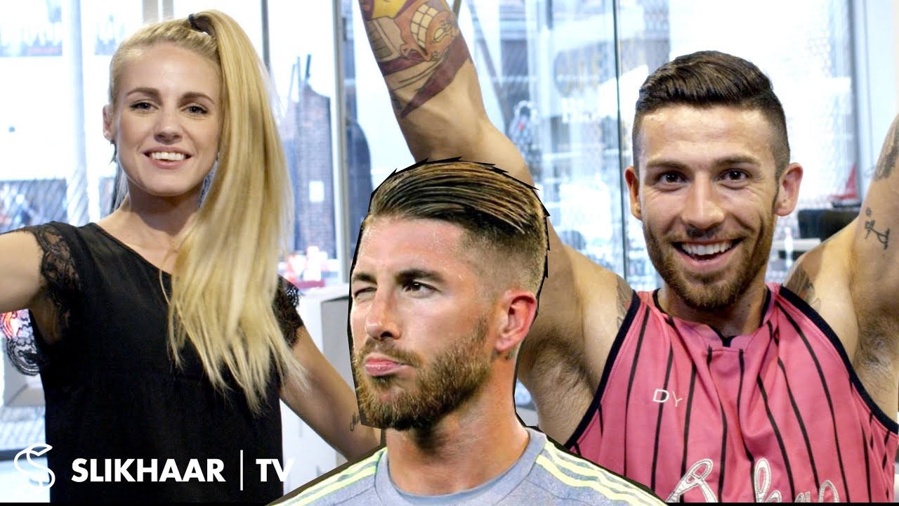Sergio Ramos Hairstyle Men S Hair Tutorial