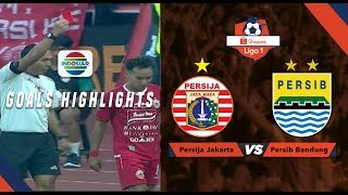 Persija Jakarta (1) vs Persib Bandung (1) - Goal Highlights | Shopee Liga 1