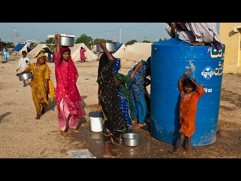 20 Million People Displaced Per Year by Climate Change