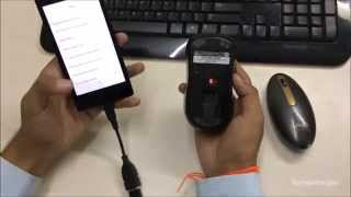 How To connect USB Mouse and Keyboard to android device (TechnoScripts)