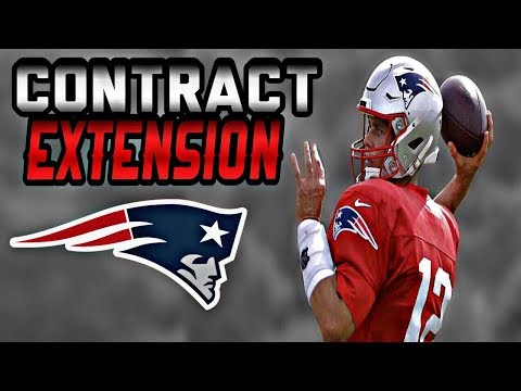 Santi - Tom Brady Signs 2-year Contract Extension