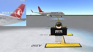 FLIGHT HOST | Turkish Airlines - Boeing 737 | ROBLOX
