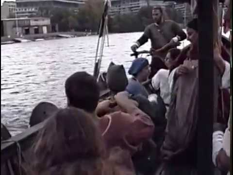 Fyrdraca meets the Norwegian Viking Ships at Georgetown - Oct 12, 1991