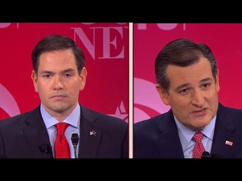 Marco Rubio and Ted Cruz\'s fiery clash on immigration