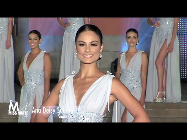 Desfile noche ALEXIS SANTANA - Miss Norte 2018