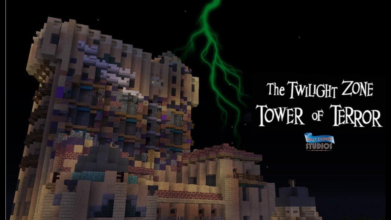 Tower Of Terror Paris Ridethrough Minecraft Hyperion