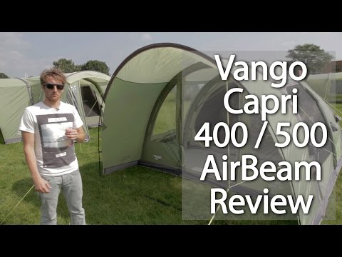 Vango Capri 500xl Amp 600xl Pitching Amp Packing Video Real
