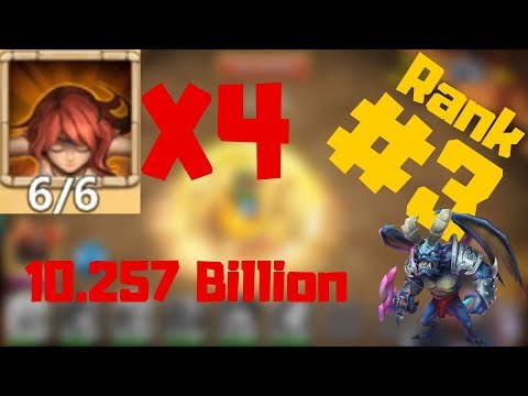 6/6 Pyremage | Rank 3 Run Archdemon | Castle Clash