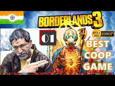 Borderlands 3 Walkthrough in Hindi | Best Coop Game 2019 | Campaign | Charity Stream | India Live