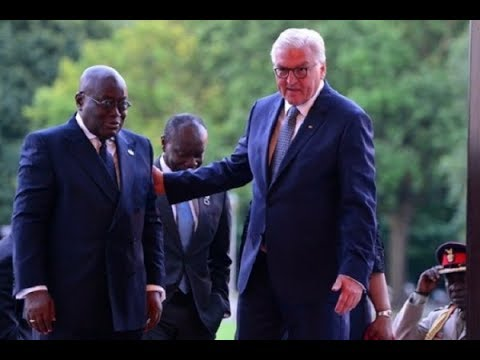 German President leaves Accra for Berlin after bilateral talks