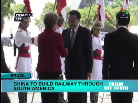 China to Build Railway through South America
